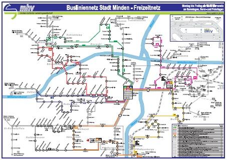 Busfahrplan Lübbecke